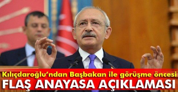 Kemal Kılıçdaroğlu'ndan 'anayasa' açıklaması