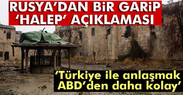 Lavrov: Halep konusunda Türkiye ile anlaşmak ABD ile...