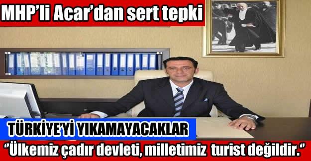 MHP'li Acar Mevlid Kandilini Kutladı, terörü sert dille lanetledi