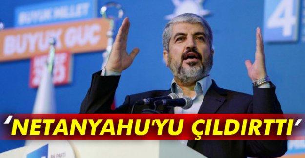 'Netanyahu'yu çıldırttı'