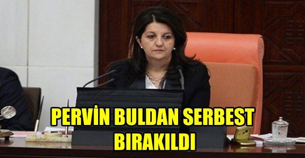 Pervin Buldan serbest bırakıldı