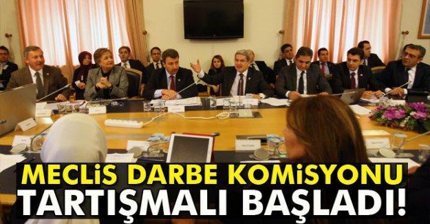 TBMM Darbe Komisyonu tartışmalı başladı