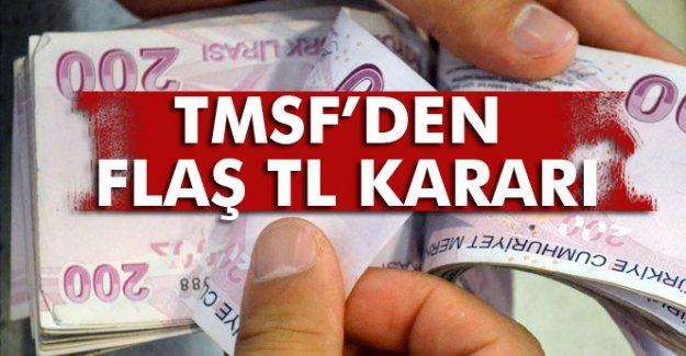 TMSF'den TL kararı