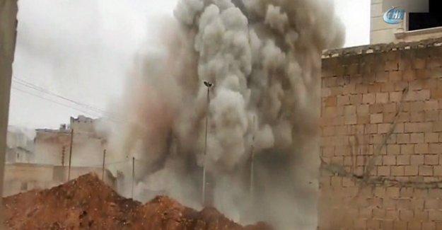 TSK, DEAŞ'a bomba yağdırıyor