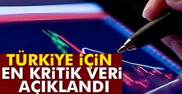 Türkiye için en kritik veri açıklandı