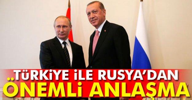 Türkiye İle Rusya'dan Önemli Anlaşma