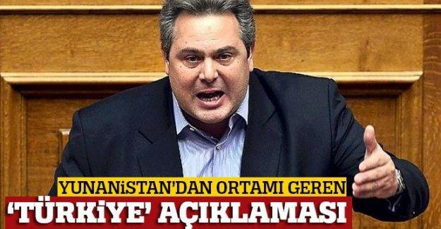 Yunanistan Savunma Bakanı'ndan küstah 'Türkiye' açıklaması