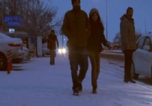 Başkent'e yılın ilk karı yağdı