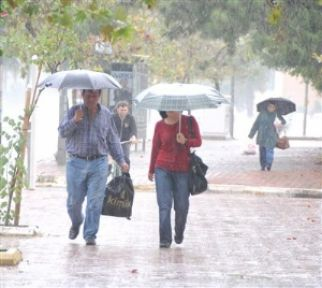 7 İle Kuvvetli Yağış Uyarısı