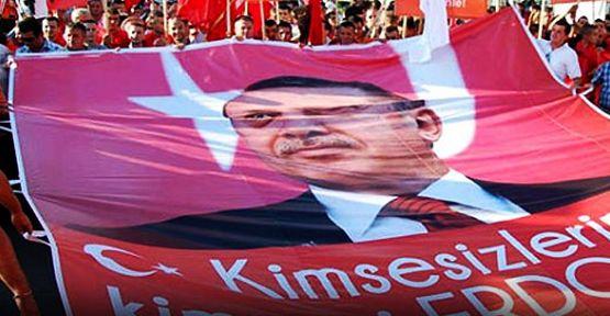 Adana'da Başbakan'a Destek Mitingi