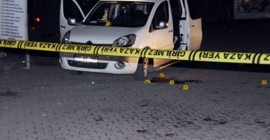 Arabada infaz: 1 ölü
