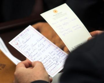 Bakan Yardımcısına Tayin Ricası Notu