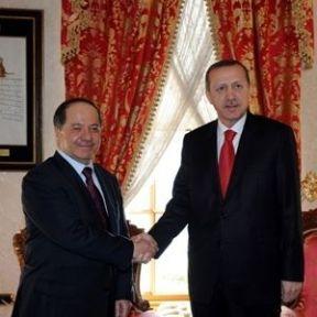 Barzani AK Parti Kongresi İçin Geldi