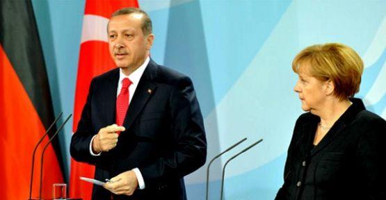Başbakan Erdoğan Merkel'le buluşacak