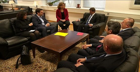 Başbakan koalisyon lideriyle görüştü