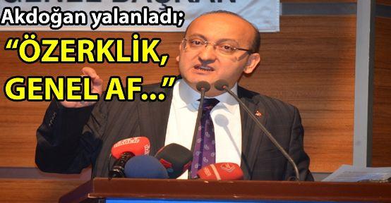 Başbakan Yardımcısı, HDP'yi yalanladı