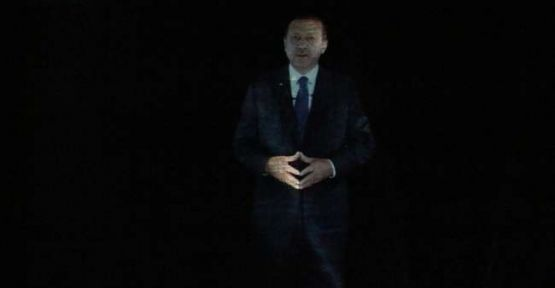 Başbakan'ın Aday Tanıtım Toplantısında ''Sürprizi''