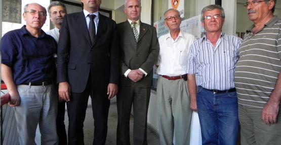BAŞKAN DEMİRAĞ'DAN TEMAD'A DÜNYA ASTSUBAYLAR GÜNÜ ZİYARETİ