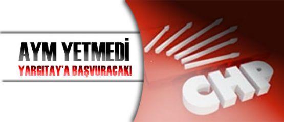 CHP, AK Parti'nin kapatılmasını için başvurdu