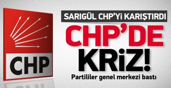 CHP'de Kriz! Partililer Genel Merkezi Bastı