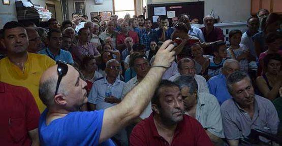 CHP'li İnce Ordu'da partililerle tartıştı