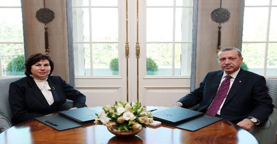 Cumhurbaşkanı'ndan iade-i ziyaret
