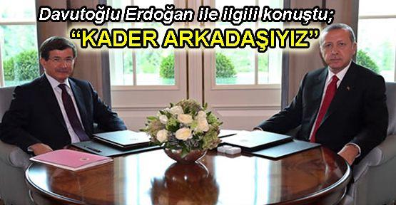 Davutoğlu: 'Erdoğan ile ilişkimize kimseyi karıştırmam'
