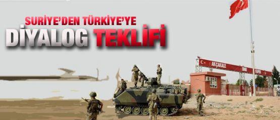 Dışişleri açıkladı: Suriye'den Türkiye'ye flaş teklif!