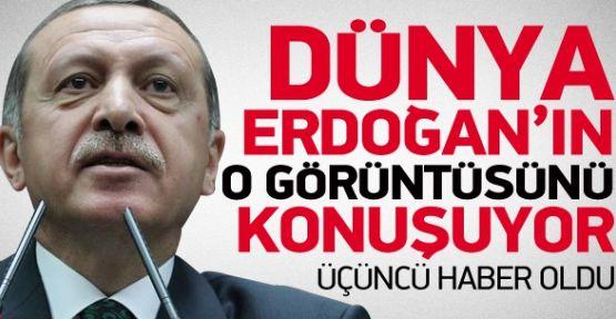 Dünya Erdoğan'ın Bu Görüntüsünü Konuşuyor