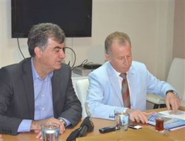 Ege-Koop'tan CHP'ye Ziyaret