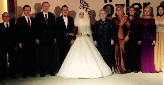 Erdoğan, İşler'in oğluna şahit oldu