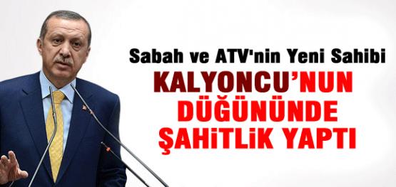 Erdoğan, Kalyoncu'nun Düğününe Katıldı