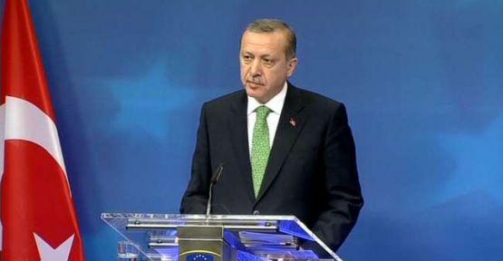 Erdoğan'dan  AB'ye Uyarı