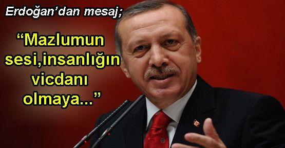 Erdoğan'dan 'İnsan Hakları Günü' Mesajı