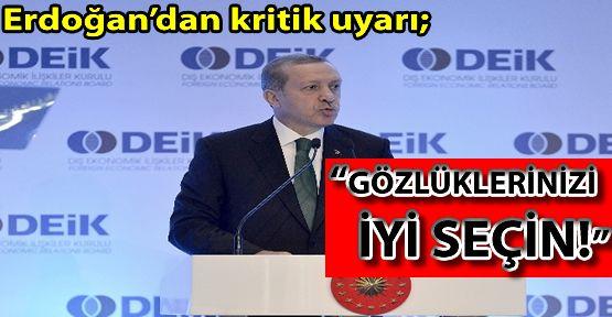 Erdoğan'dan Kritik Uyarı!!