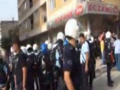 Hatay'da Esad Yanlıları Polise Saldırdı