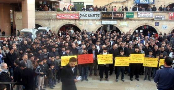 HDP'nin saçmalığı protesto edildi