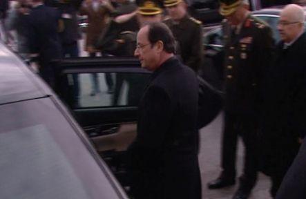 Hollande, Çankaya Köşkü'nde