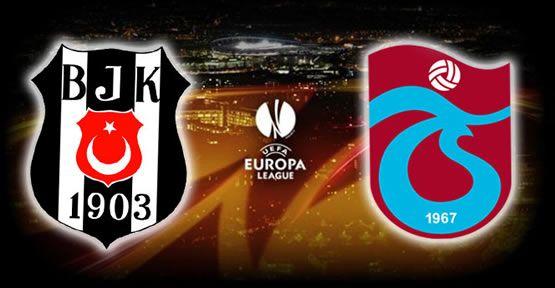 İşte Beşiktaş ve Trabzonspor'un muhtemel rakipleri!