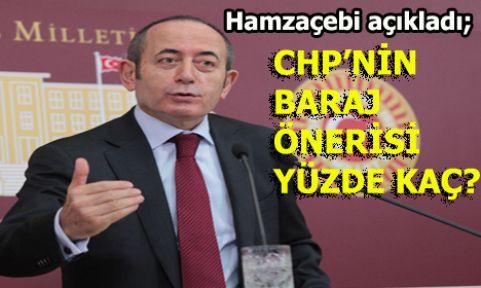 İşte CHP'nin istediği seçim barajı