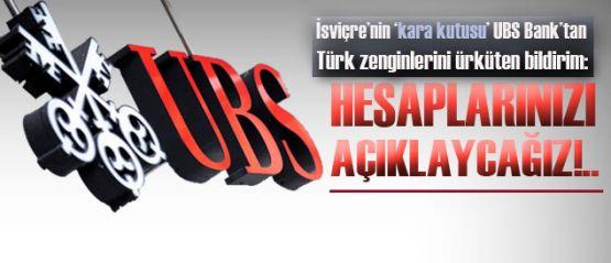 İsviçre, Türk zenginlerini açıklayacak