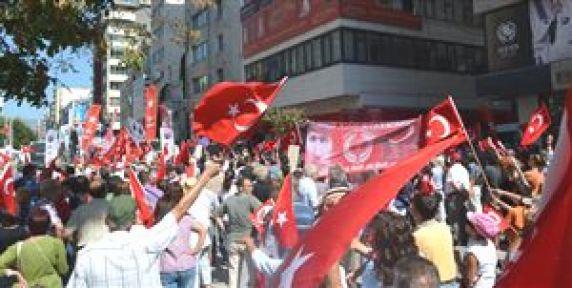 İzmir'de Balyoz Eylemi