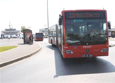 İzmir'de Bayram Ulaşımı Yüzde 50 İndirimli