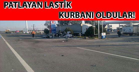 İzmir'de feci kaza: 6 ölü, 1 yaralı