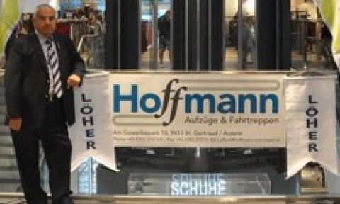 İzmirli firma'dan Avrupa'ya yürüyen merdiven ihracatı