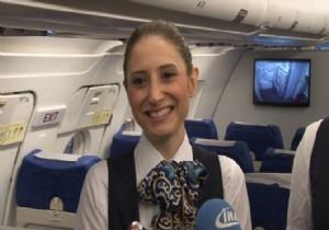 Japonlar bu Türk hostesi konuşuyor
