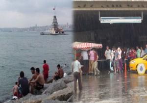 Kadıköy'de Yağmur, Üsküdar'da Güneş!