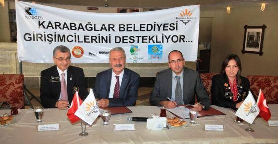 Karabağlar'ın girişimcilerine büyük destek