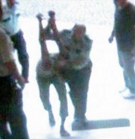 Karakolda Dayak Skandalı