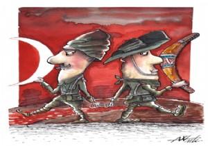 Karikatürlerle Çanakkale
